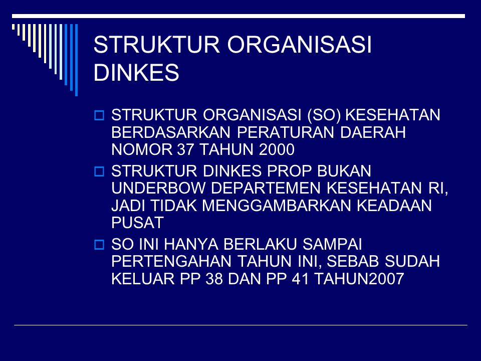 East Java Province Health Service Office Head of Health Service Office Food & Drugs Division Manpower Empowerment Division Family Health Division Surveillance Division Health Service Division Programe Planning Division secretariat