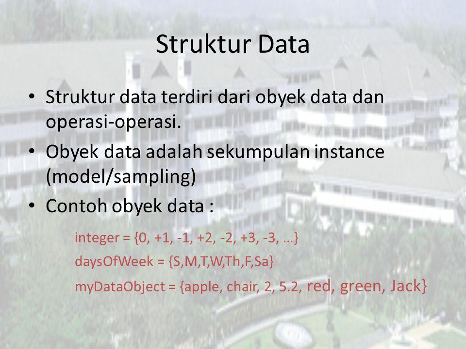 Tujuan Instruksional Mahasiswa mampu : – Memahami struktur data dari linear list – Mampu merepresentasikan linear list menggunakan array dan linked li