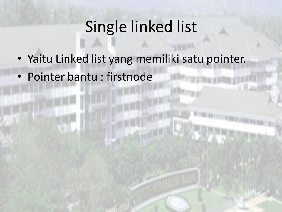 Node Link atau pointer data field