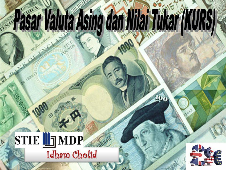 Idham Cholid 42 NX(  ) Ekspor Neto, NX Kurs Riil,  NX 1 Akibatnya, penawaran dolar untuk ditukar ke mata uang asing turun dari S - I 1 ke S - I 2.