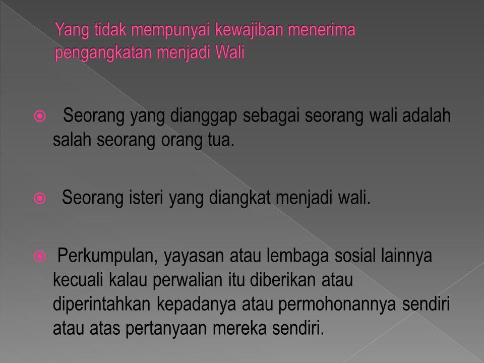  Mereka yang akan melakukan jawatan negara berada diluar Indonesia.