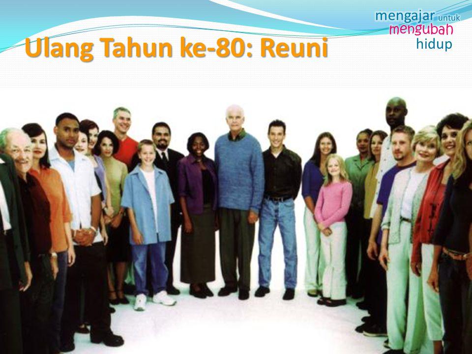 Ulang Tahun ke-80: Reuni ++