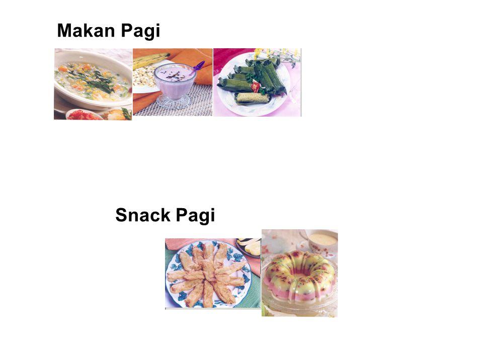 Makan Pagi Snack Pagi