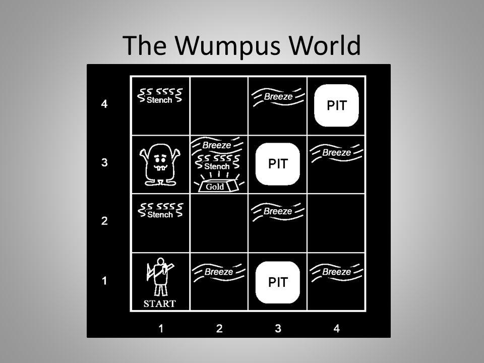 Wumpus world Environment sederhana, berguna untuk menguji dan menjelaskan logical agent.