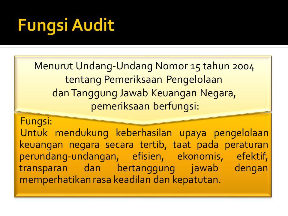  Perencanaan audit adalah keseluruhan rencana penugasan audit untuk masa yang akan datang dan dilakukan oleh lembaga audit.