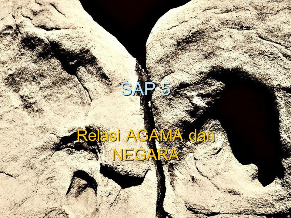 SAP 5 Relasi AGAMA dan NEGARA
