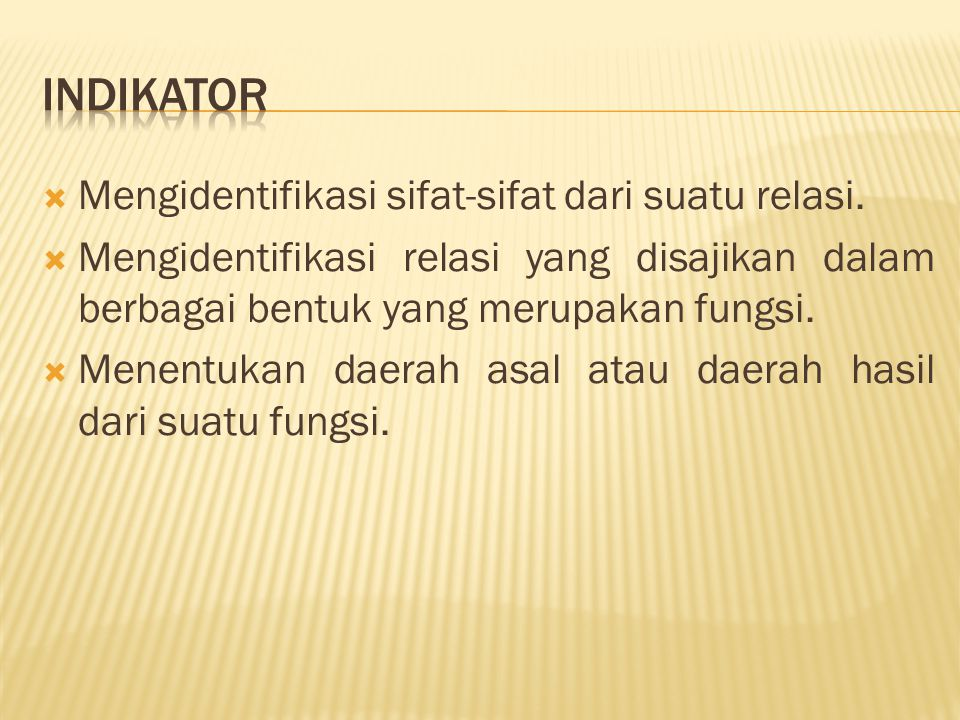 (1) (2) Apakah semua anggota himpunan P memiliki pasangan dengan anggota himpunan Q.