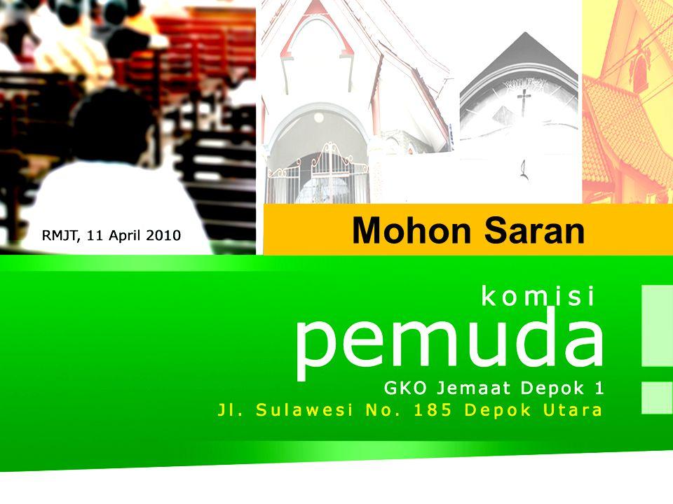 Mohon Saran