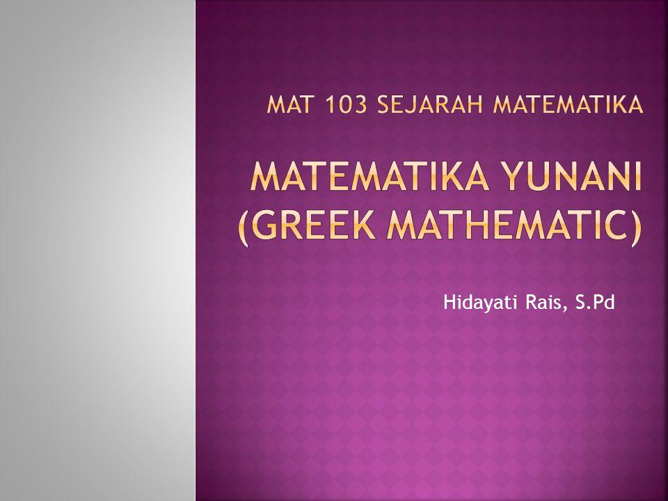  Bilangan Sahabat (amicable numbers) dan bilangan- bilangan sempurna (perfect numbers).