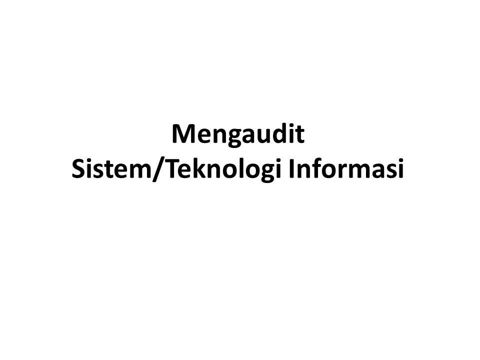 Mengaudit Sistem/Teknologi Informasi