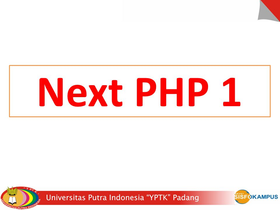 Next PHP 1
