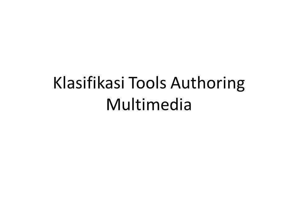 Klasifikasi Piranti Authoring Multimedia Ada dua cara pengklasifikasian piranti authoring multimedia : Secara metafora Secara kapabilitas dan kompleksitas