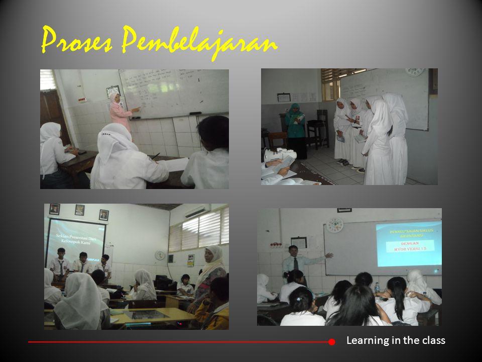 Proses Pembelajaran Learning in the class