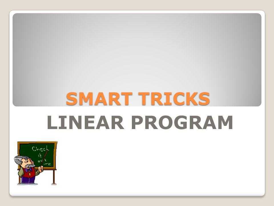 Penyelesaian dengan Gradien garis 1.Susun model matematika dari masalah program linear 2.