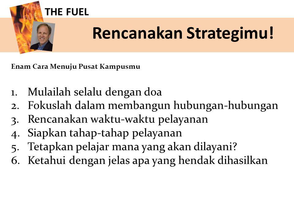 Rencanakan Strategimu.