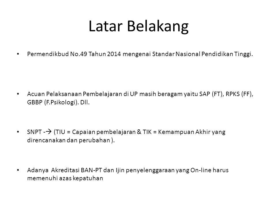 Permendikbud No.49 Tahun 2014 Tentang SNPT