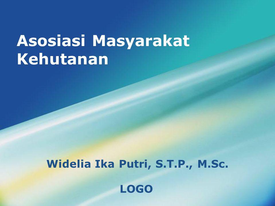 LOGO Asosiasi Masyarakat Kehutanan Widelia Ika Putri, S.T.P., M.Sc.