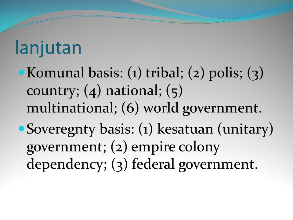 Demokrasi sebagai Sistem Nilai Sebetulnya, membicarakan nilai demokrasi tentu tidak bisa dilepaskan dari Bentuk Negara (pemerintahan).