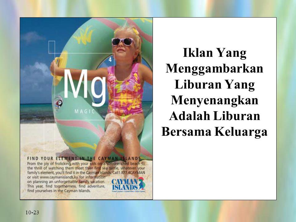 10-23 Iklan Yang Menggambarkan Liburan Yang Menyenangkan Adalah Liburan Bersama Keluarga