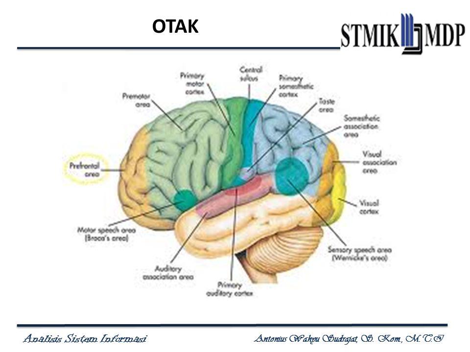 Analisis Sistem Informasi Antonius Wahyu Sudrajat, S. Kom., M.T.I OTAK