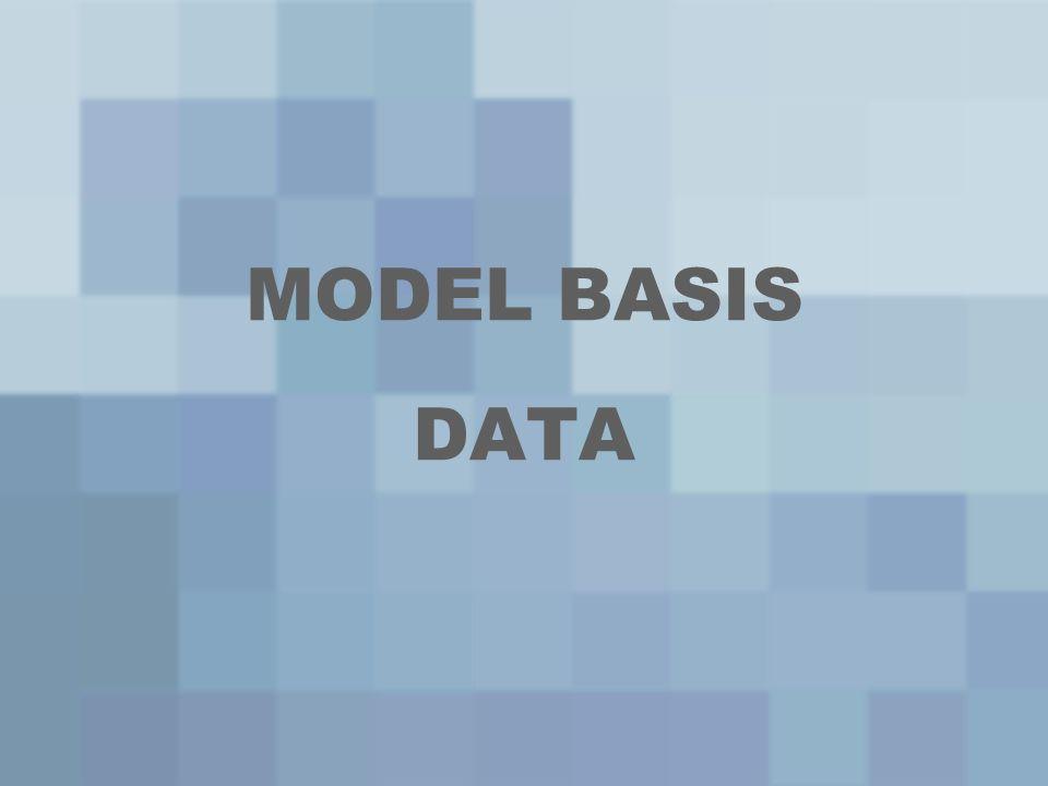 Jenis-Jenis Model Data 3.