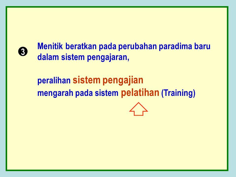 Berorientasi pada peningkatan skill dalam bidang pemahaman Al Qur'an sampai pada kemampuan mengajarkan, lulus paket 6 mampu mengajar paket 1, lulus pa