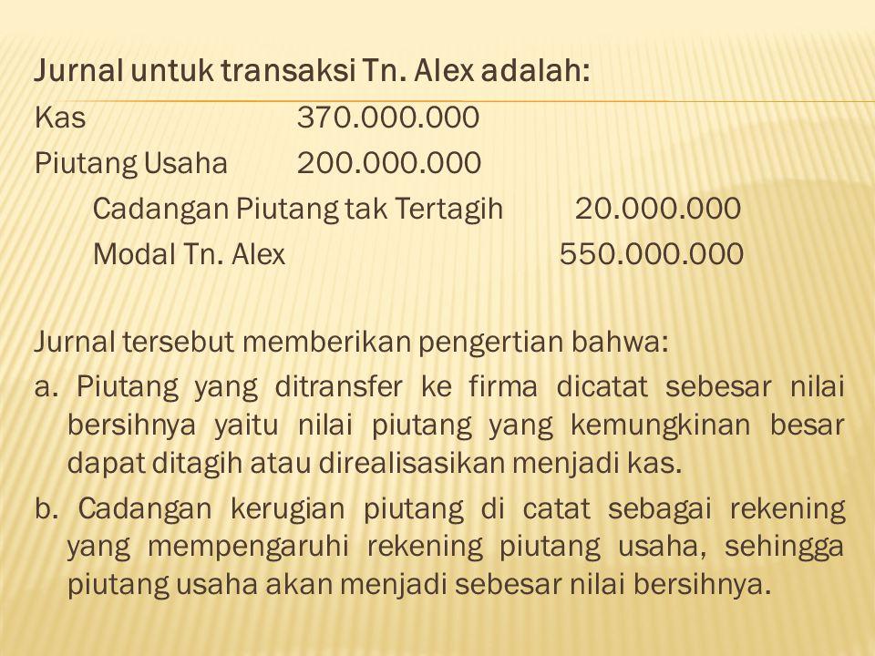 Berdasarkan data-data tersebut, maka pembagian laba bersih firma adalah sebagai berikut Laba bersih 80.000.000 Gaji Tn.