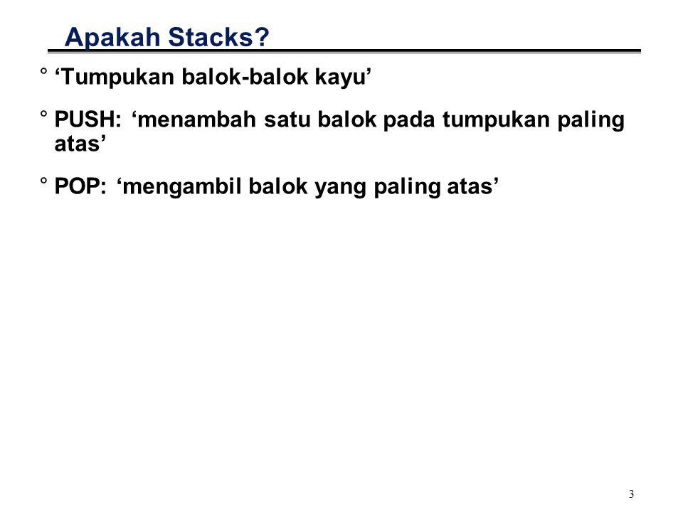 3 Apakah Stacks.