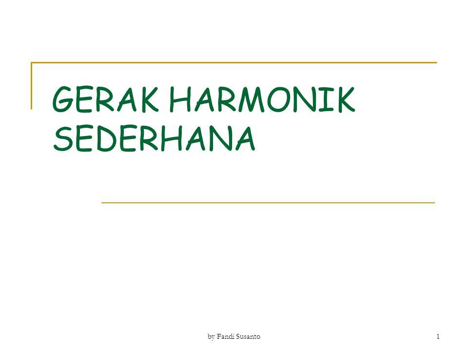 GERAK HARMONIK SEDERHANA 1 by Fandi Susanto