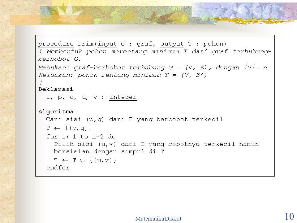 Matematika Diskrit 11