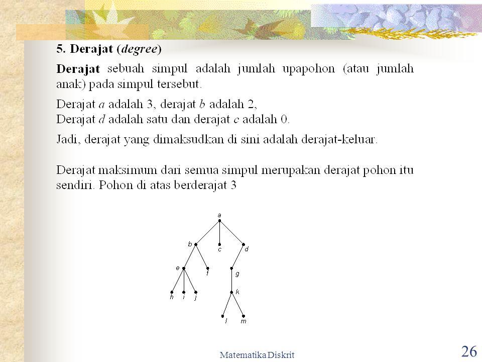 Matematika Diskrit 27
