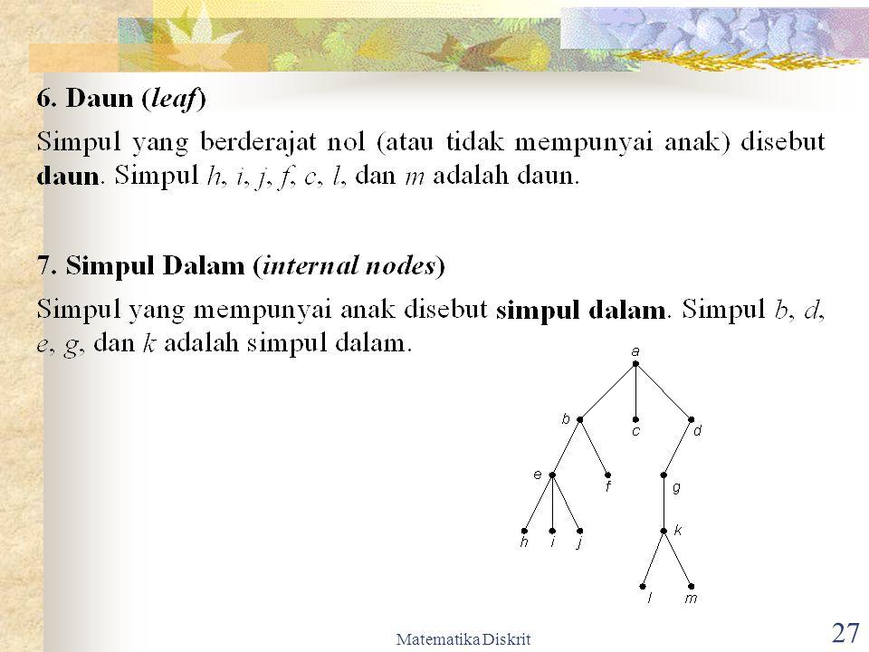 Matematika Diskrit 28