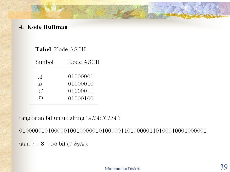 Matematika Diskrit 40