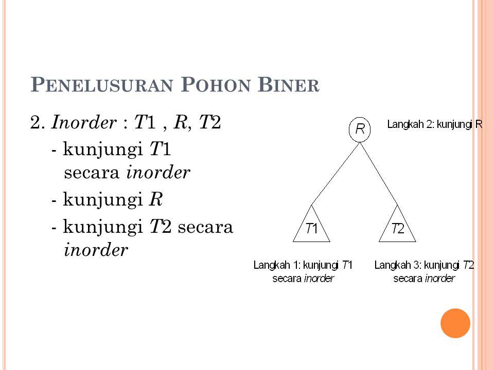 P ENELUSURAN P OHON B INER 2.