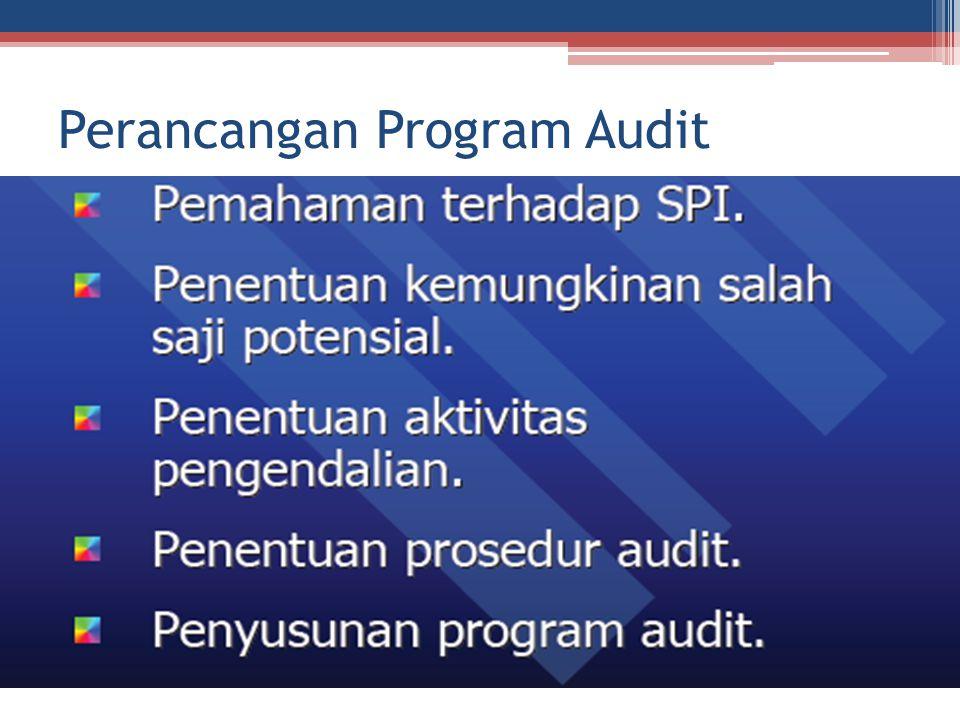 Uraian Perancangan Program Audit