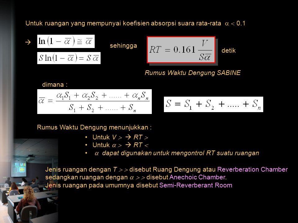 Waktu total yang dibutuhkan untuk melalui n pantulan adalah : t = n t' sehingga  kerapatan energi setelah n kali pantulan : atau sehingga untuk c 0 =