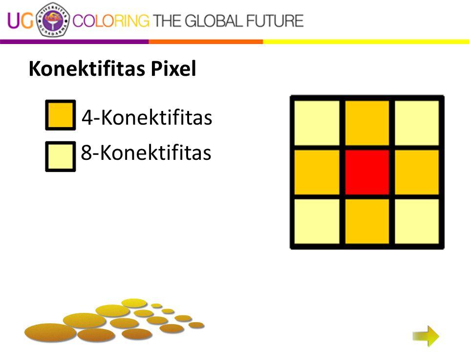 Konektifitas Pixel 4-Konektifitas 8-Konektifitas