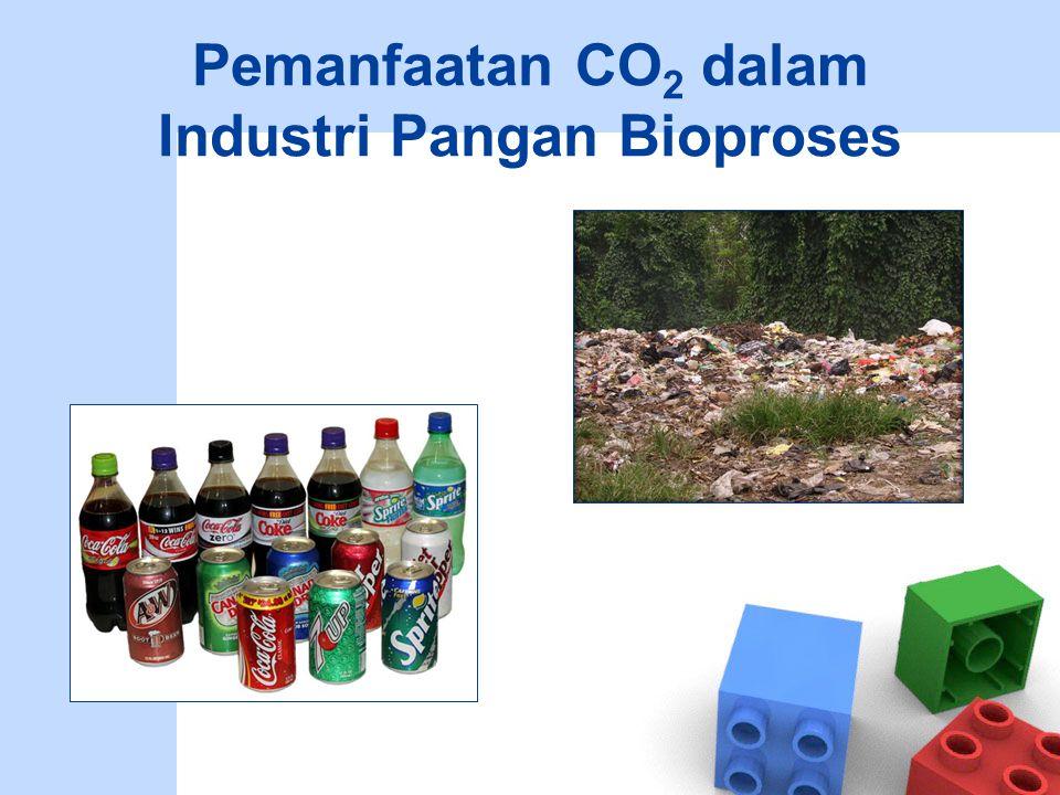 Pemanfaatan CO 2 dalam Industri Pangan Bioproses