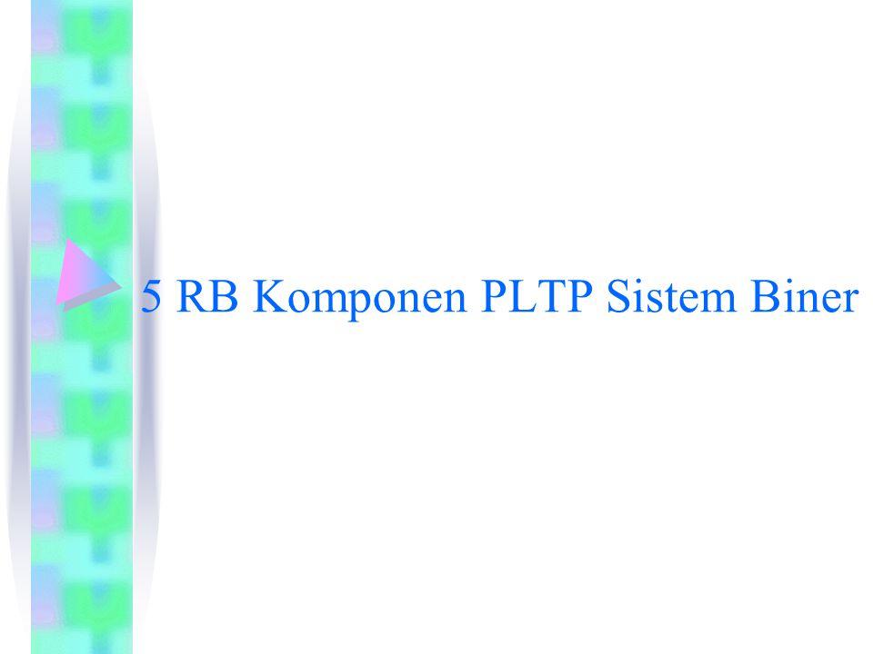 5 RB Komponen PLTP Sistem Biner