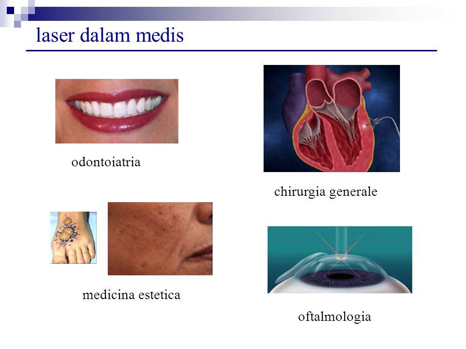 laser dalam medis chirurgia generale oftalmologia odontoiatria medicina estetica