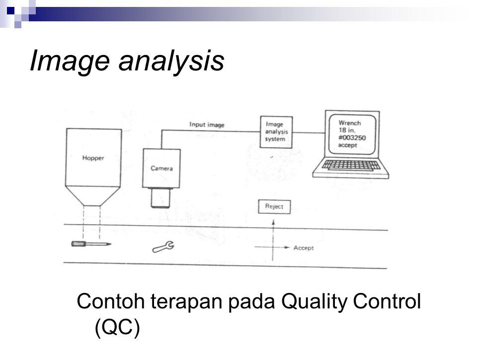 Image analysis Contoh terapan pada Quality Control (QC)