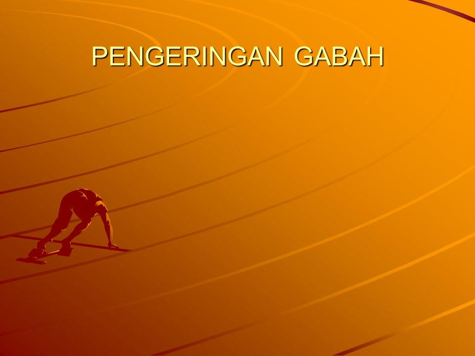 PENGERINGAN GABAH