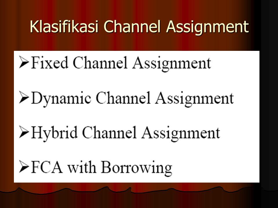 Klasifikasi Channel Assignment