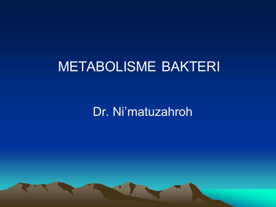 REGULASI METABOLISME Prokariota mampu menghasilkan ribuan reaksi kimia dalam jalur –jalur metabolisme yang saling berkaitan.