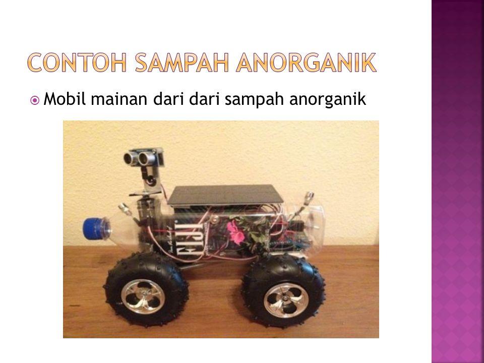  Mobil mainan dari dari sampah anorganik