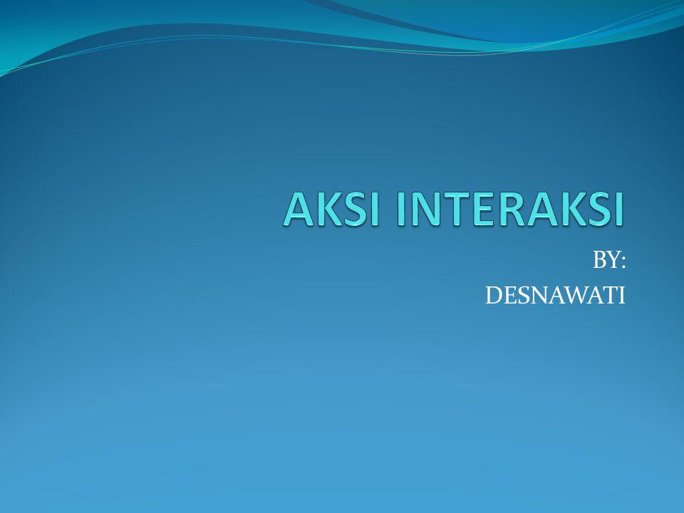 BY: DESNAWATI