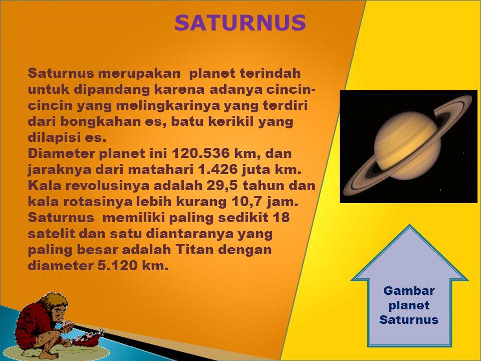 YUPITER Gambar planet Yupiter Yupiter planet kelima terdekat ke matahari dan merupakan planet terbesar dalam tata surya. Massanya kira-kira 300 kali m