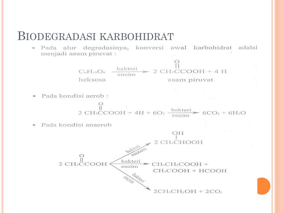 B IODEGRADASI KARBOHIDRAT