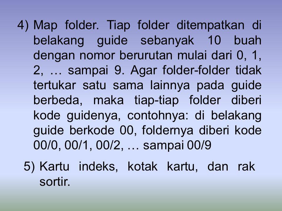 4)Map folder.
