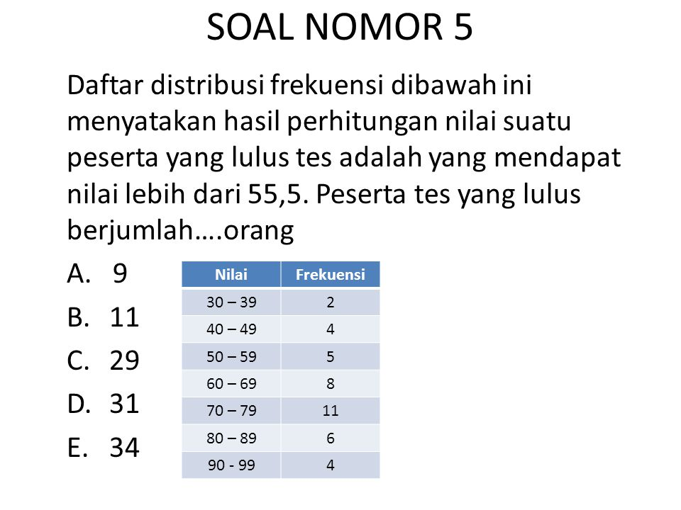 SOAL NOMOR 6